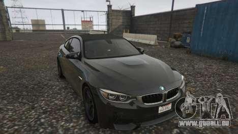GTA 5 BMW M4 F82 2015 Rückansicht