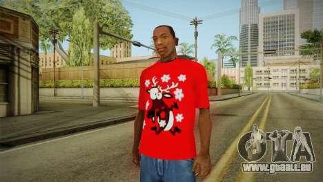 T-shirt mit einem Reh für GTA San Andreas