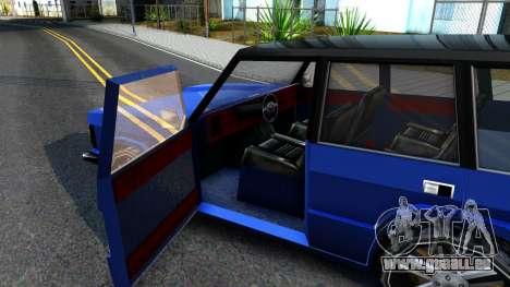 Huntley AcademeG pour GTA San Andreas vue intérieure