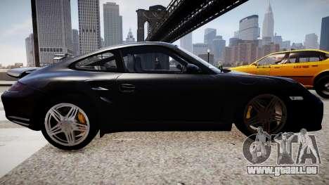 Porsche 911 turbo 2008 für GTA 4 linke Ansicht