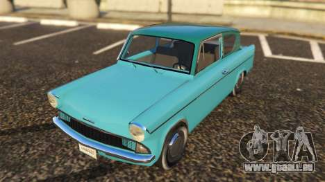 Ford Anglia 1959 from Harry Potter pour GTA 5