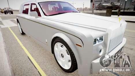 Rolls-Royce Phantom EWB Dragon Edition 2012 pour GTA 4