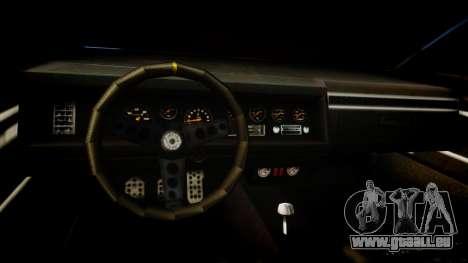 Vapid Terminator pour GTA 4 est une vue de l'intérieur