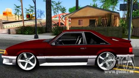 Ford Mustang 1993 für GTA San Andreas linke Ansicht