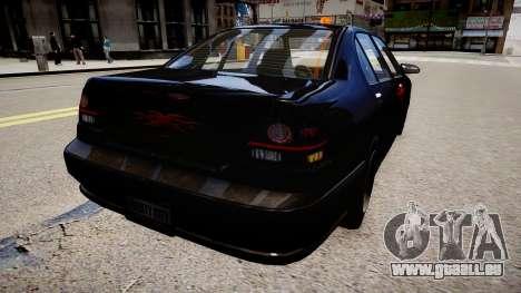 Taxi xxx für GTA 4 hinten links Ansicht
