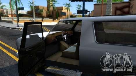 Land Roamer Driver Parallel Lines für GTA San Andreas Innenansicht