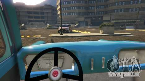 GTA 5 Ford Anglia 1959 from Harry Potter droite vue latérale