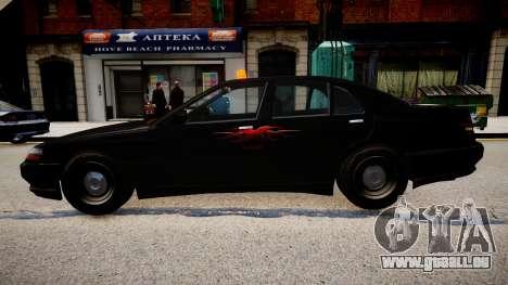 Taxi xxx für GTA 4 linke Ansicht
