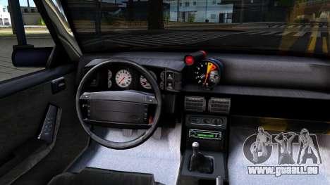 Ford Mustang 1993 für GTA San Andreas Innenansicht