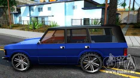 Huntley AcademeG pour GTA San Andreas laissé vue