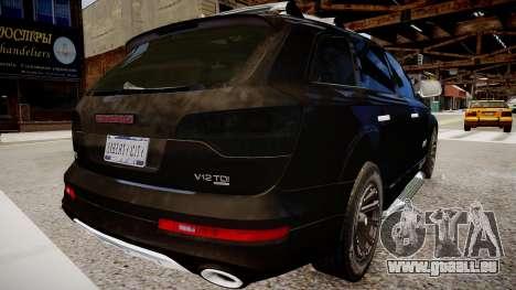 Audi Q7 CTI für GTA 4 hinten links Ansicht