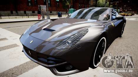Ferrari F12 Berlinetta pour GTA 4 est un droit