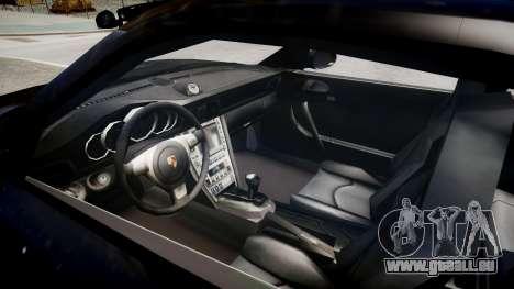 Porsche 911 turbo 2008 für GTA 4 Innenansicht