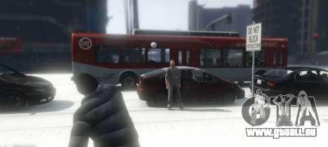 GTA 5 Snowballs in Singleplayer dritten Screenshot