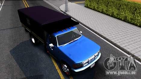 Ford F-350 Harina Pan Venezolano pour GTA San Andreas vue de droite