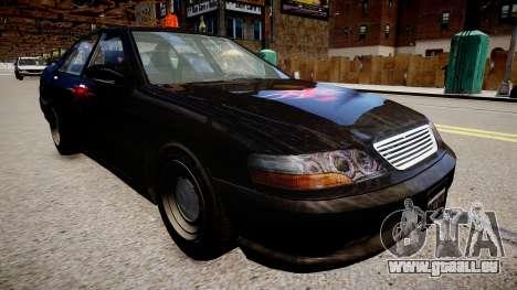 Taxi xxx für GTA 4 rechte Ansicht