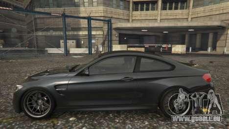 GTA 5 BMW M4 F82 2015 linke Seitenansicht