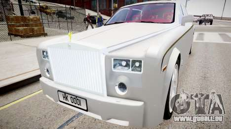 Rolls-Royce Phantom EWB Dragon Edition 2012 pour GTA 4 est un droit