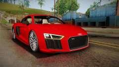 Audi R8 V10 2017 pour GTA San Andreas