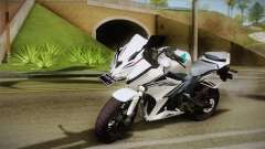 Honda CBR150R 2016 White Row