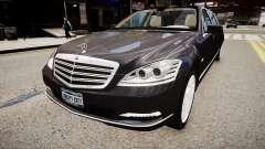 Mercedes-Benz S600 Guard Pullman 2011 pour GTA 4