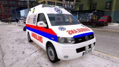 Volkswagen T5 Polish Ambulance