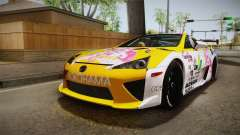 Lexus LFA Beatrice The Orange of ReZero für GTA San Andreas