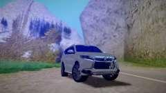 Mitsubishi Pajero Sport 2016 pour GTA San Andreas