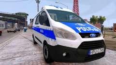 Ford Transit Polish Police 2015 für GTA 4