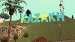 L'inscription en KAZAKH, au lieu de Vinewood