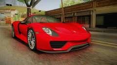 Porsche 918 Spyder 2013 SA Plate