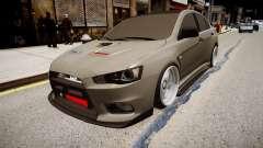 Mitsubishi Lancer Evolution X Stance für GTA 4