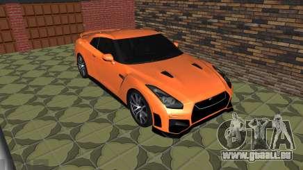 La Nissan GT-R 35 Restyling pour GTA San Andreas