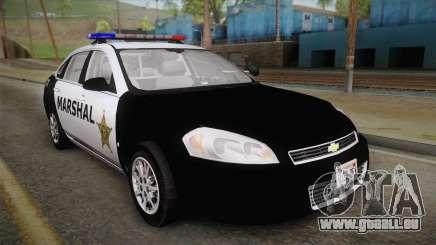 Chevrolet Impala 2007 Las Barrancas Marshal pour GTA San Andreas