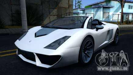 GTA V Pegassi Vacca 9F Roadster für GTA San Andreas