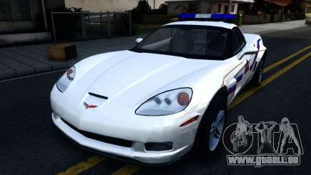 Chevy Corvette Z06 Hometown PD 2006 pour GTA San Andreas
