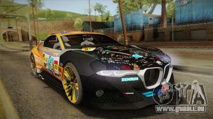 BMW CSL Hommage R 2015 GSR Project Mirai pour GTA San Andreas