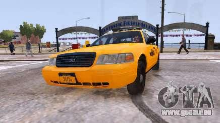 Taxi Nyc pour GTA 4