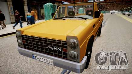 Nissan Zamyad pour GTA 4