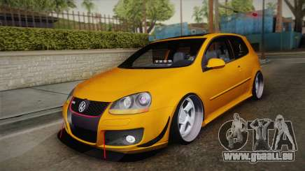 Volkswagen Golf 5 Stance pour GTA San Andreas