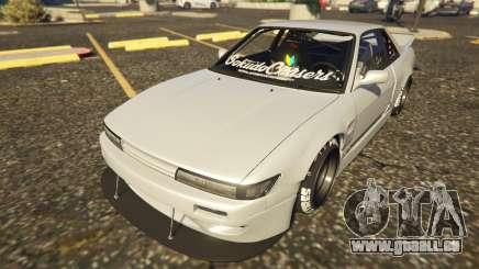 Nissan Silvia S13 Kyoto Rocket Bunny 666 pour GTA 5