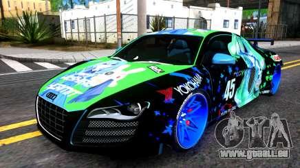 Audi R8 V.1.0 Itasha Yoshino Hermit DAL LWP pour GTA San Andreas