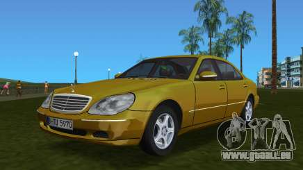 Mercedes-Benz S600 W220 pour GTA Vice City