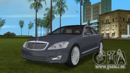 Mercedes-Benz S500 W221 2006 pour GTA Vice City