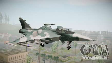 EMB J-39C Gripen NG FX-2 FAB pour GTA San Andreas