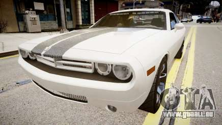 Dodge Challenger Unmarked Police Car pour GTA 4