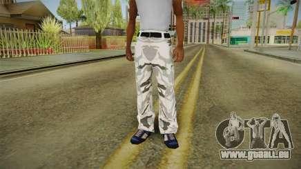 Collants d'hiver camo pour GTA San Andreas