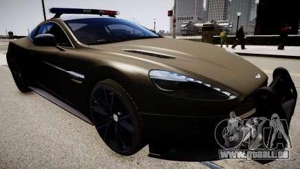 Aston Martin Police pour GTA 4