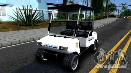 Caddy Metropolitan Police 1992 pour GTA San Andreas