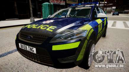 Ford Mondeo Estate police UK für GTA 4